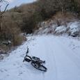 冬の京都北山・I谷峠からI仏峠へ