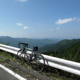 吉野大峰林道から見える山々