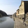 平福宿・川端風景
