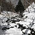 京都北山の雪の細ガ谷