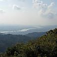 雲山峰から望む紀ノ川