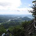 青葉山の岩場から見る舞鶴