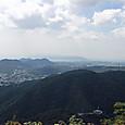 菊水山から淡路島方面への展望