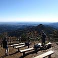 日の出山山頂からの眺め