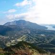 箱根・丸岳からの神山と芦ノ湖